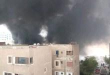 التحقيقات: ماس كهربائي وراء حريق مخزن كرتون مدينة السلام