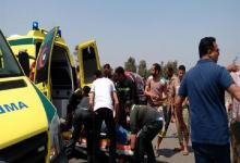مصرع شخصين وإصابة آخرين في حادث تصادم على الطريق الحر بالقليوبية