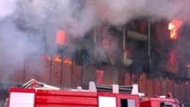 الحماية المدنية تسيطر على حريق بمصنع بلاستيك في شبرا الخيمة
