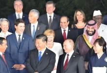الرئيس السيسي يشارك في مأدبة عشاء رئيس وزراء اليابان على هامش قمة العشرين