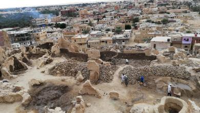 ترميم مدينة شالي بواحة سيوة