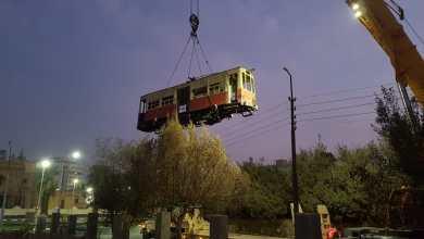 عربات ترام مصر الجديدة