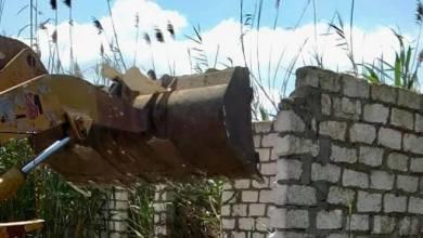 تنفيذ إزالة 11 حالة تعدي على الأراضي الزراعية بكفر الشيخ