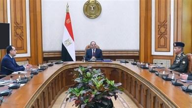 الرئيس السيسي يجتمع مع وزراء الدفاع والخارجية والري بحضور رئيسي الحكومة والمخابرات
