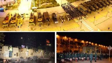 القوات المسلحة تواصل أعمال التعقيم والتطهير للميادين والأماكن الحيوية