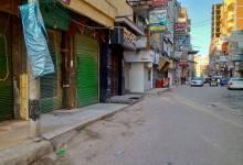 """""""نور الدين"""" يتابع تنفيذ قرار غلق المحال لليوم الرابع عشر في كفر الشيخ"""