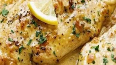 Photo of طريقة تحضير صدور الدجاج بصوص الليمون والشبت