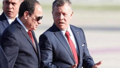 Photo of مراسم استقبال الرئيس السيسي بمطار الملكة علياء الدولي (فيديو)