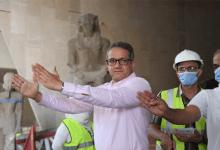 Photo of وزير السياحة والآثار يتفقد قاعات العرض بالمتحف المصري الكبير