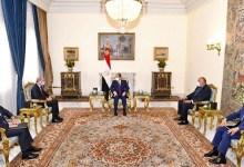 السيسي ووزير خارجية الأردن