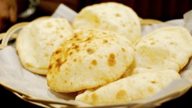 ضبط خبز مدعم