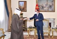 Photo of الرئيس السيسي يتسلم رسالة من أمير الكويت