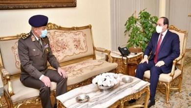 Photo of فيديو.. الرئيس السيسي يستقبل وزير الدفاع ويتابع برنامج تحويل السيارات للعمل بالغاز