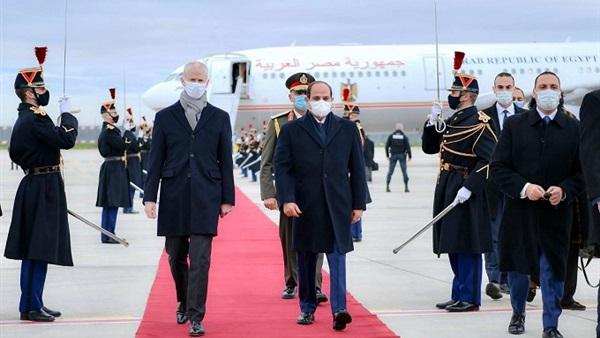زيارة الرئيس السيسي إلى فرنسا