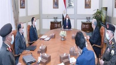 """الرئيس السيسي يعقد اجتماعا لاستعراض المشروع القومي """"الدلتا الجديدة"""""""