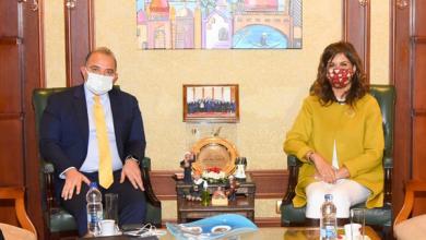 وزيرة الهجرة ورئيس البورصة يبحثان طرق جذب استثمارات المصريين بالخارج