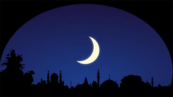 استطلاع هلال شهر رمضان