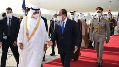 سد النهضة يتصدر مباحثات الرئيس السيسي وولي عهد أبو ظبي
