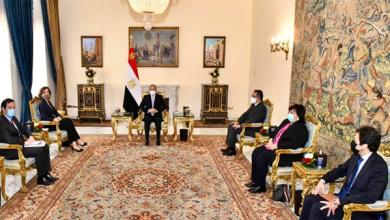 الرئيس عبد الفتاح السيسي يستقبل مدير عام منظمة اليونسكو