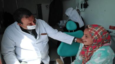 الكشف علي 1180 مواطنًا خلال قافلة طبية مجانية بكفر الشيخ