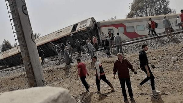 وزارة الصحة تعلن حصيلة ضحايا حادث قطار طوخ
