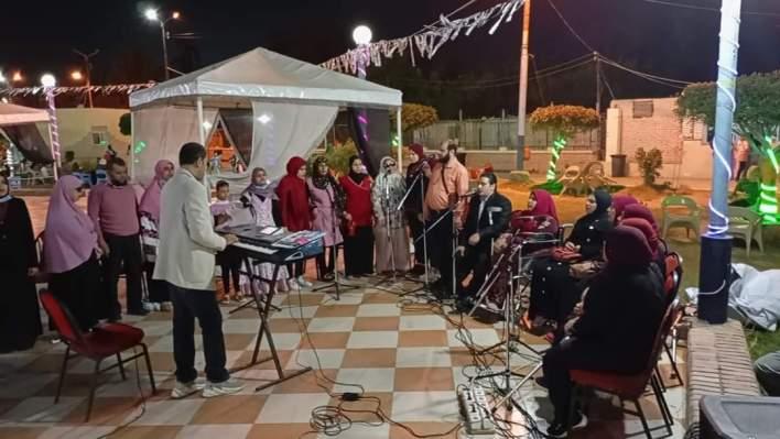 فرقة التمكين الثقافي لذوي الهمم تحيي ليلة رمضانية بكفر الشيخ