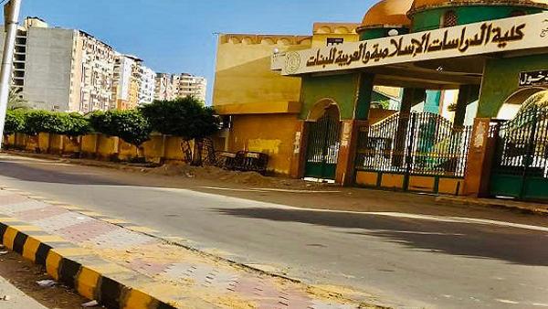 ننشر حقيقة تداعي جزء من الإنترلوك بالجزيرة الوسطي في كفر الشيخ..صور