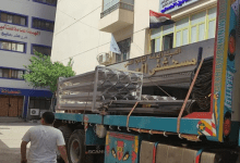 تركيب تانك أكسجين بسعة 1100 لتر في مستشفى العبور بكفر الشيخ