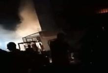 بالفيديو.. السيطرة على حريق هائل في 4 مصانع بالمنوفية