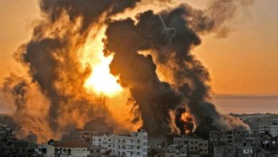 استمرار إطلاق صواريخ الاحتلال على قطاع غزة