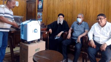مستقبل وطن بكفر الشيخ يتبرع بجهازي توليد أكسجين لمواجهة كورونا