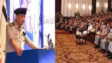 بالفيديو.. وزير الدفاع يشهد مناقشة البحث الرئيسي لإدارة الشئون المعنوية