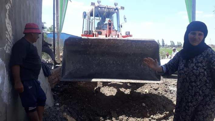 إنهاء مشكلة انقطاع المياه وتجميل قرية الترزي في بيلا