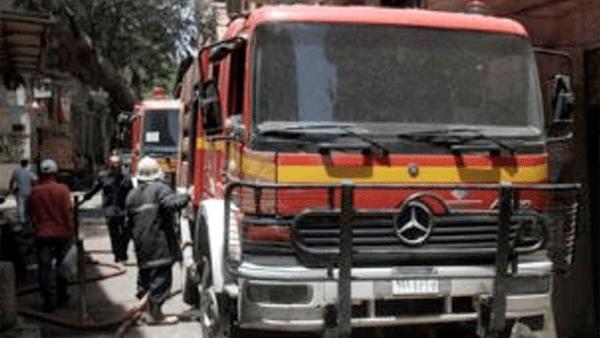 إندلاع حريق هائل يلتهم عدة منازل في جرجا بسوهاج