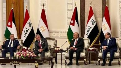 الرئيس عبد الفتاح السيسي يشارك في اجتماع رباعي ببغداد
