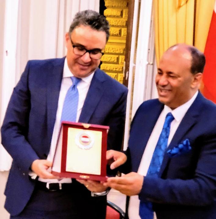 السفير محمد الملا يلتقي أبناء الجالية المصرية بفيينا في لقاء يغمره الحب