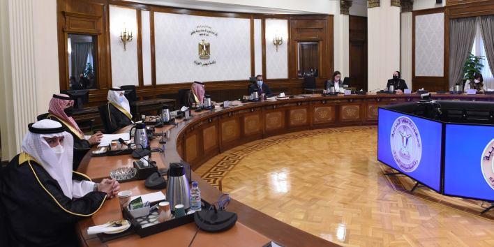رئيس الوزراء يلتقي وزير التجارة والصناعة السعودي