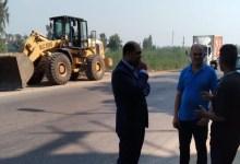 رئيس مدينة بيلا يقود حملة نظافة على طريق الكراكات - الناصرية