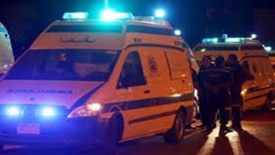 إصابة 3 أشخاص في تصادم سيارة ملاكي بموتوسيكل بكفر الشيخ