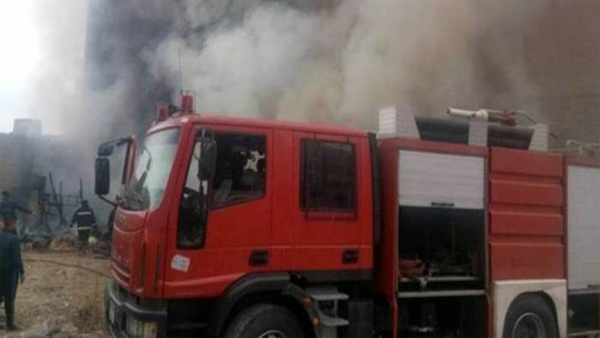 الحماية المدنية تسيطر على حريق بمحل تجاري بمدينة السلام