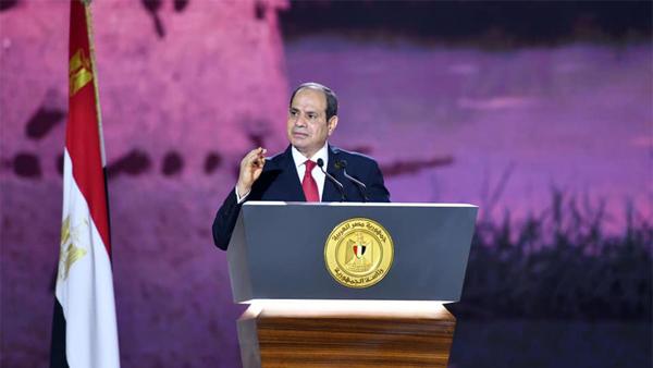 """نص كلمة الرئيس السيسي خلال اطلاق مشروع تنمية الريف المصري """"حياة كريمة"""""""
