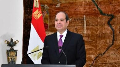 الرئيس السيسي يهنئ شعب مصر العظيم بذكرى ثورة 23 يوليو
