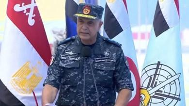 قائد القوات البحرية يوجه عدة رسائل من قاعدة 3 يوليو
