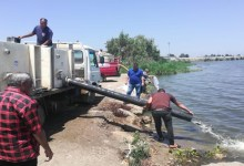 بحيرة البرلس تشهد أعمال تعميق وإلقاء 4 ملايين وحدة زريعة أسماك