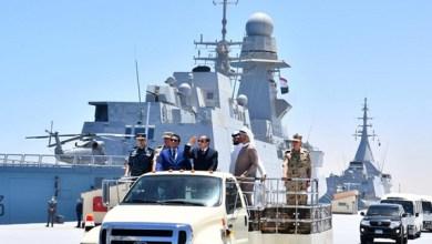 فيديو.. الرئيس السيسي يفتتح قاعدة 3 يوليو البحرية ويتابع المناورة قادر 2021