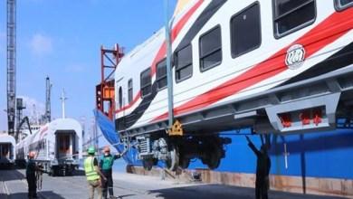"""وصول أول دفعة من القطار الكهربائي """"السلام - العاصمة الإدارية"""" نهاية الشهر الجاري"""