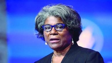 المندوبة الأمريكية: الاتحاد الأفريقي هو المحفل الأنسب لمعالجة أزمة سد النهضة