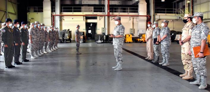 التدريب الجوي المصري الإماراتي زايد 3