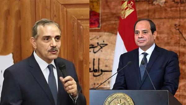 برقية تهنئة من محافظ كفر الشيخ للرئيس السيسي بالعام الهجري الجديد