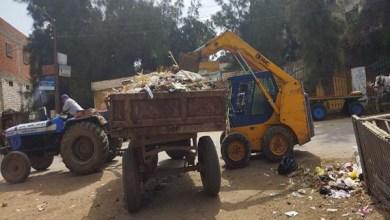 حملة نظافة تسفر عن رفع 2531 طن مخلفات بمراكز ومدن كفر الشيخ